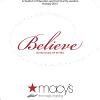 Macy's Believe In The Magic of Giving